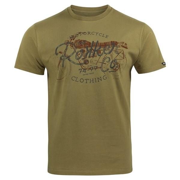 ROKKER T-Shirt HERITAGE brown