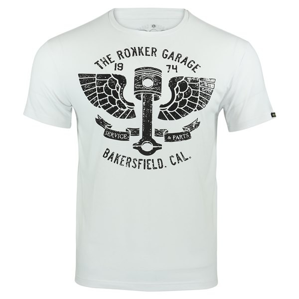 ROKKER Funktionsshirt PERFORMANCE TEE BAKERSFIELD white