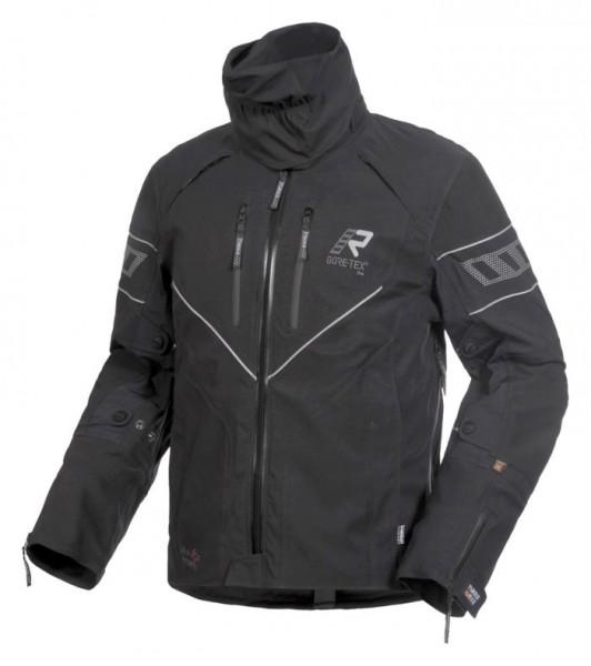 RUKKA Textiljacke REALER schwarz-silber GORE-TEX®
