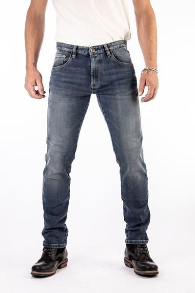 ROKKER Jeans ROCKERTECH TAPERED Slim Carrot Fit 1067 blau