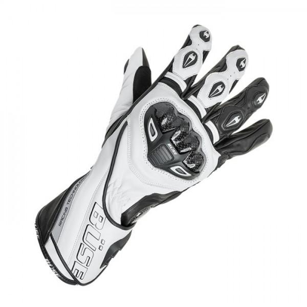 BÜSE Sport Handschuhe DONINGTON PRO weiss-schwarz