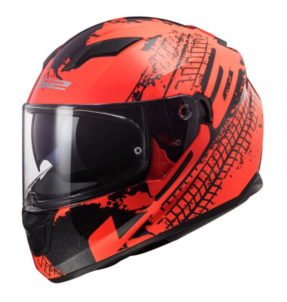 LS2 Integralhelm FF320 STREAM EVO LAVA orange