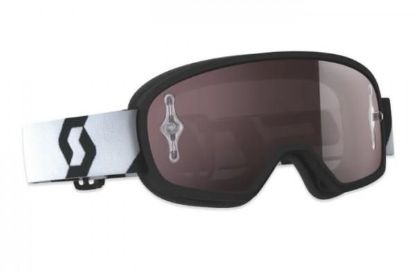 SCOTT Motocross Brille BUZZ PRO schwarz-weiss