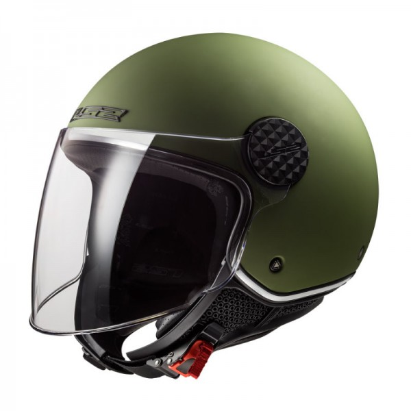 LS2 Jethelm OF558 SPHERE LUX military green