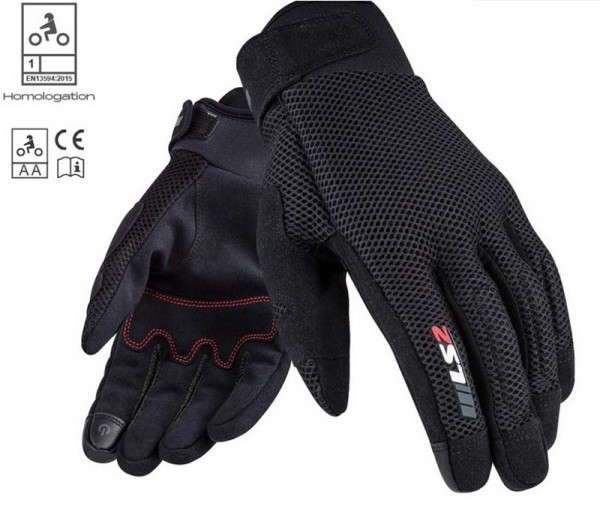 LS2 Handschuhe COOL MAN schwarz
