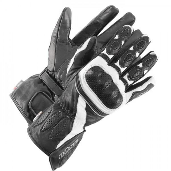 BÜSE Damen Sport Handschuhe PIT LANE schwarz-weiss