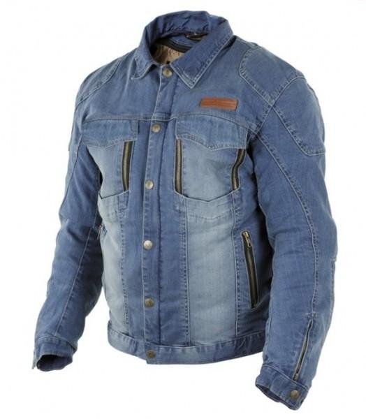 TRILOBITE Kevlar Jeans-Jacke PARADO blau