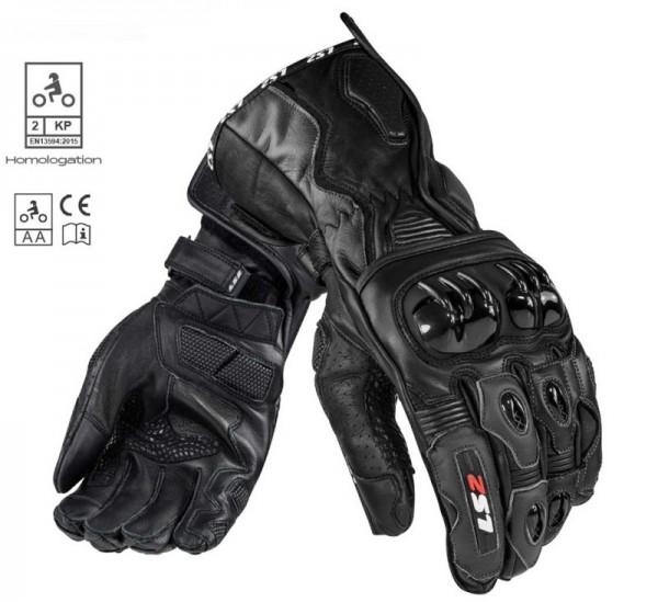 LS2 Handschuhe SWIFT RACING schwarz