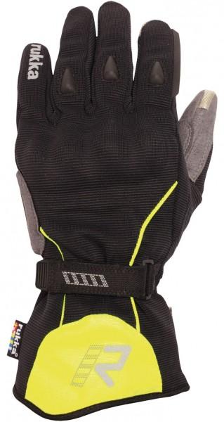 RUKKA Handschuhe VIRIUM schwarz-gelb Gore-Tex