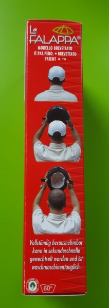 LA FALAPPA selbsthaftender Helmeinsatz