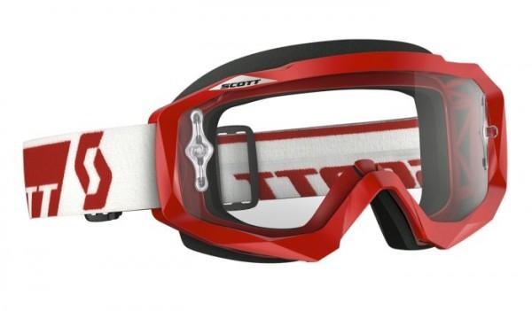 SCOTT Motocross Brille HUSTLE MX rot
