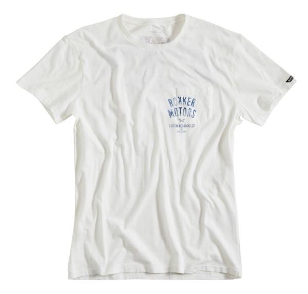 ROKKER T-Shirt MOTORS dirt-white-Copy