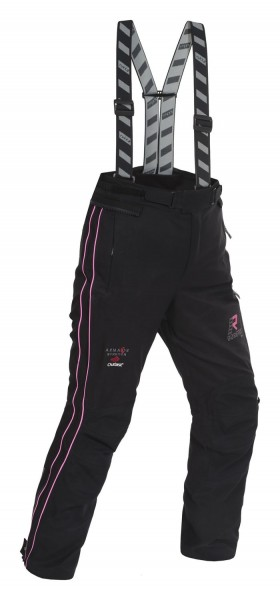 RUKKA Damen Textilhose ORBITA schwarz-pink GORE TEX®