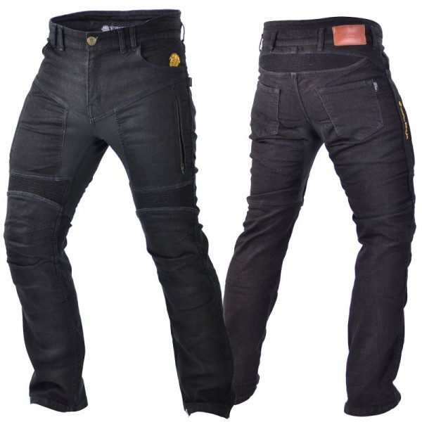 TRILOBITE Kevlar Jeans PARADO Slim Fit mit TÜV CE schwarz