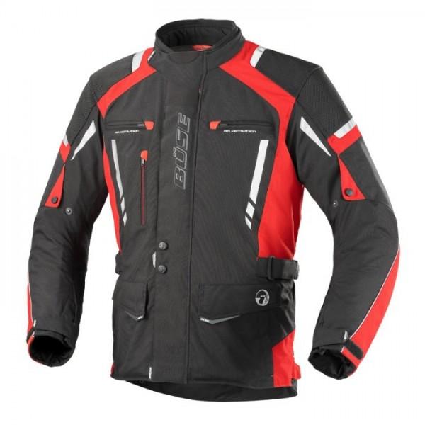 BÜSE Textiljacke TORINO PRO schwarz-rot