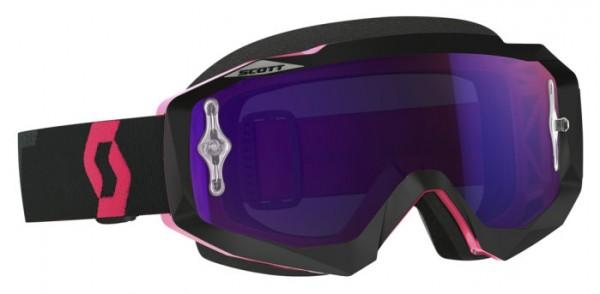 SCOTT Motocross Brille HUSTLE MX pink verspiegelt