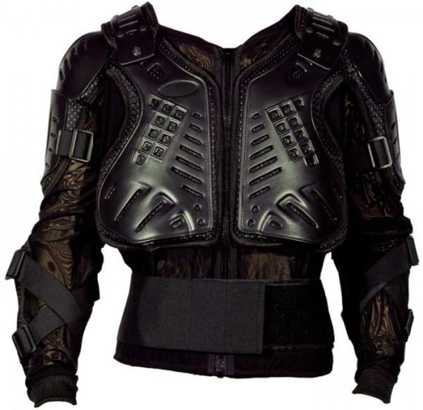 MODEKA Protektorenhemd schwarz
