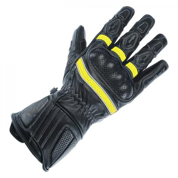 BÜSE Damen Sport Handschuhe PIT LANE schwarz-gelb