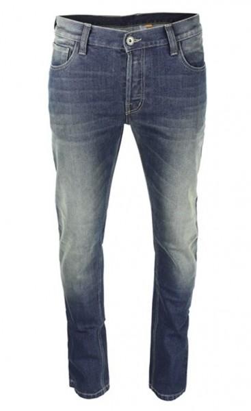 ROKKER Jeans ROCKERTECH PANT SLIM STRAIGHT 1061 A3 blau