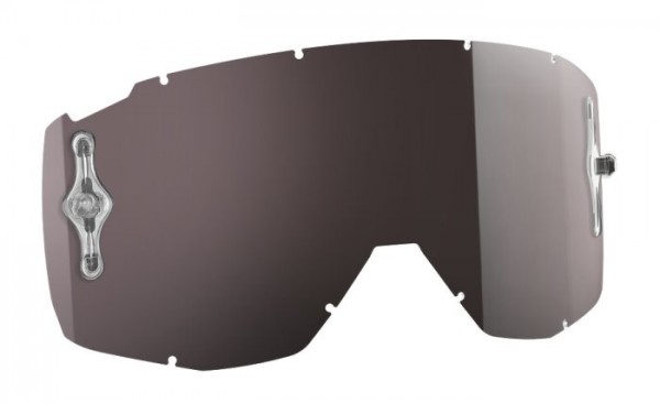 SCOTT Motocross Brillenscheibe für HUSTLE, TYRANT, SPLIT silber chrome