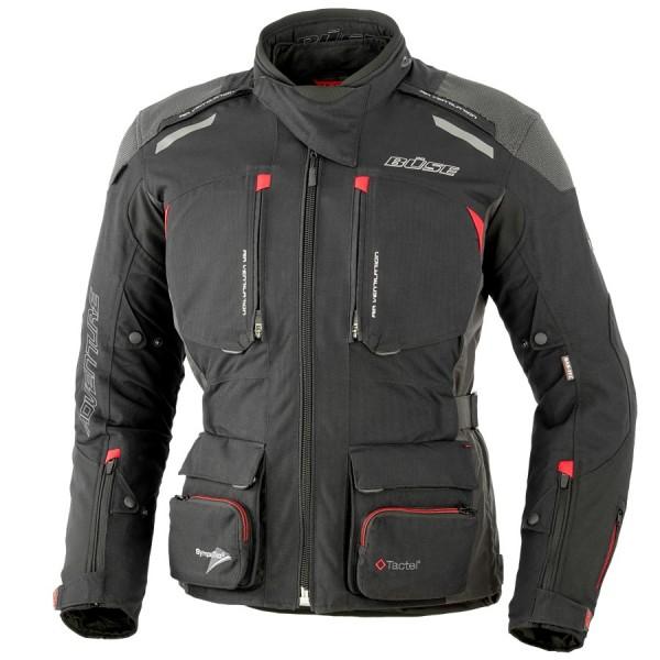 BÜSE Textiljacke ADV PRO STX schwarz rot