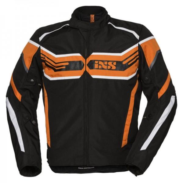 IXS Textiljacke RS-400 ST schwarz-orange-weiss