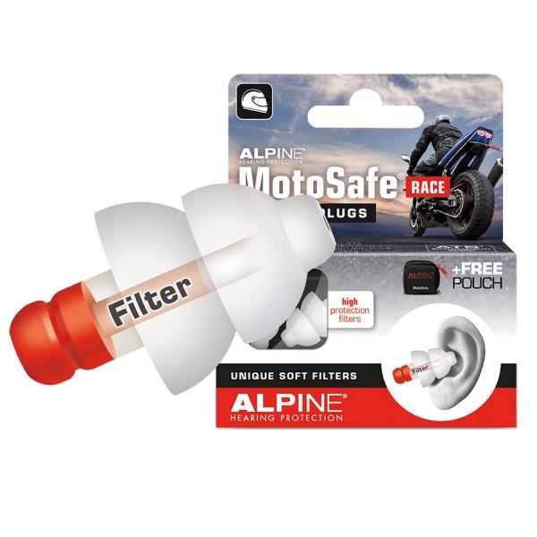 ALPINE Gehörschutz Moto Safe Race