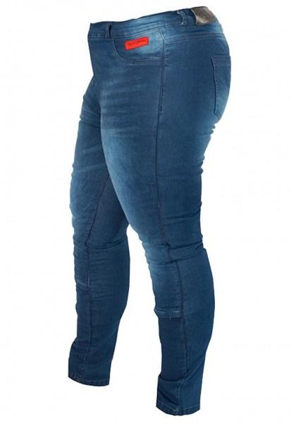 RUSTY STITCHES Damen Jeans SUPER ELLA blau