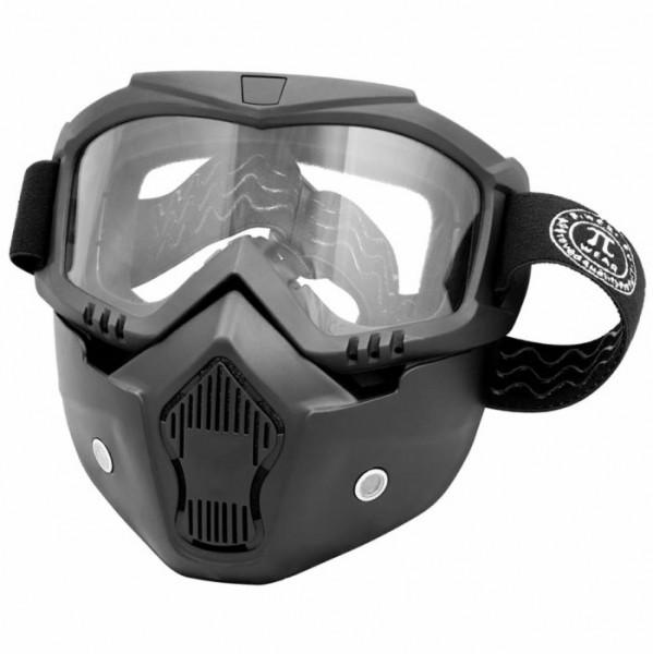 PIWEAR Brillenmaske INVASE CL klar