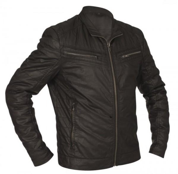 RACER Textiljacke Wachs-Cotton L.A. Jacket schwarz