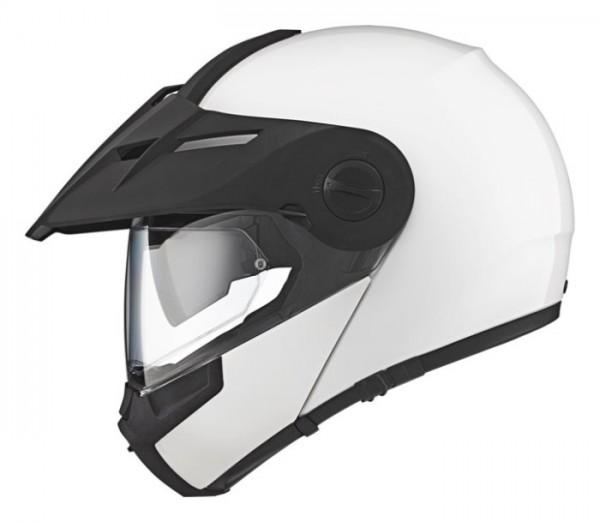 SCHUBERTH Dualsport-Helm E1 glossy white