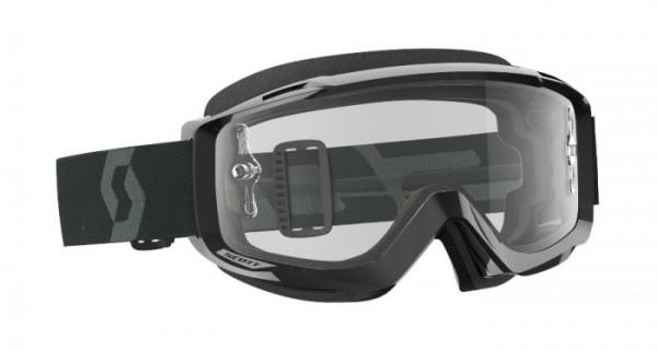 SCOTT Motocross Brille Split OTG für Brillenträger schwarz-weiss