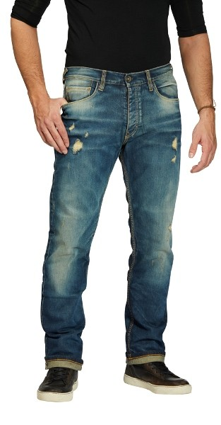ROKKER Jeans IRON SELVAGE Limited Edition 1052 blau