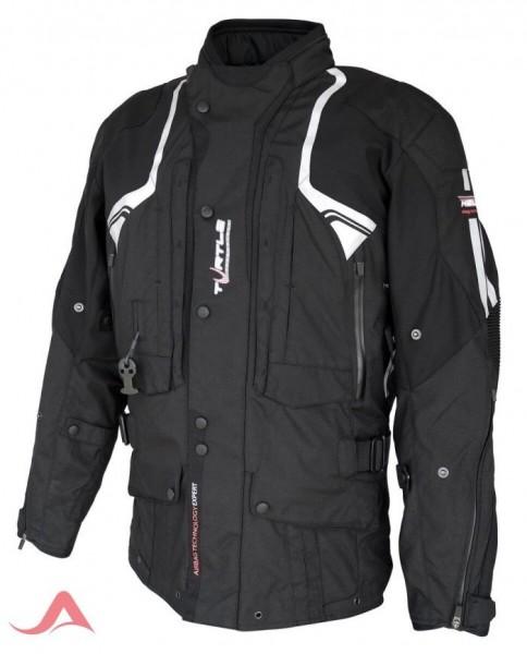 HELITE Airbag-Jacke Textiljacke TOURING 2.0 schwarz
