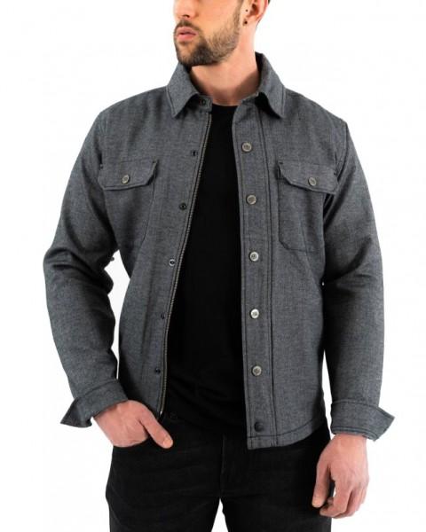 ROKKER Hemd Shirt BOSTON grey