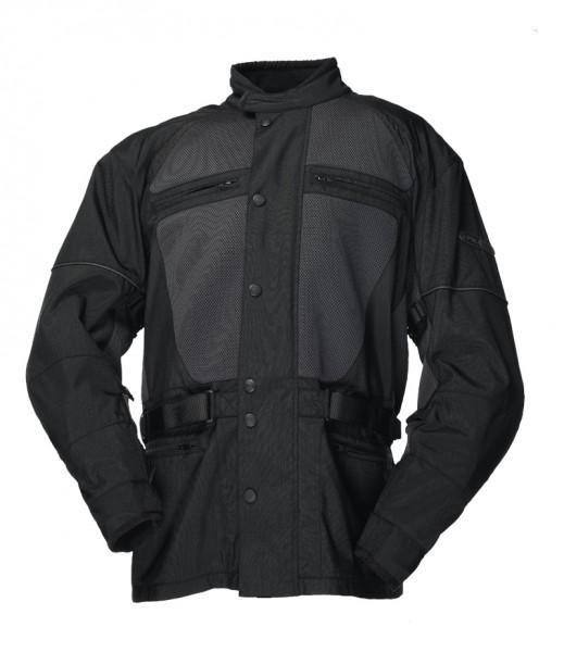 IXS Textiljacke BAMAKO schwarz Übergrößen