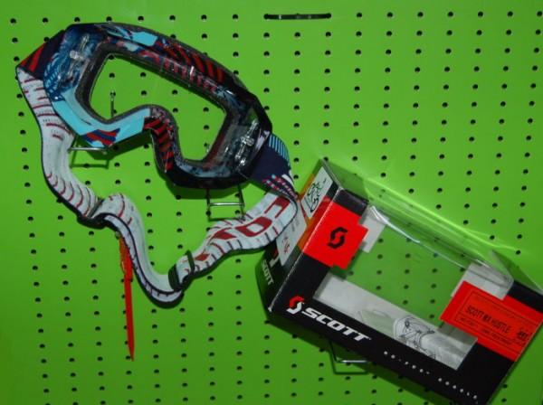 SCOTT Motocross Brille HUSTLE MX bunt