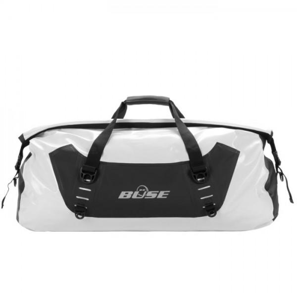 BÜSE Gepäcktasche schwarz 50 Liter schwarz-weiss