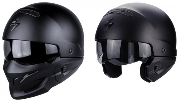 SCORPION Multi Helm EXO-COMBAT matt schwarz