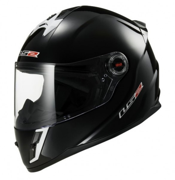 LS2 Kinder Integralhelm FF392 KID SOLID schwarz