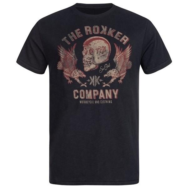 ROKKER T-Shirt RED EAGLE black