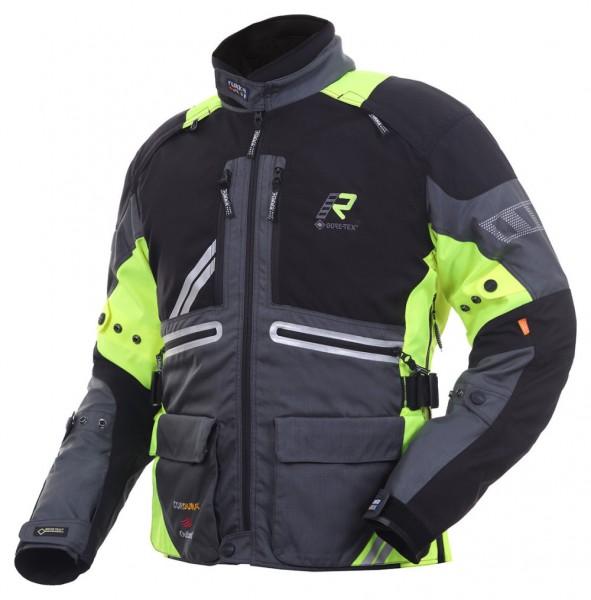 RUKKA Textiljacke OFFLANE schwarz-gelb GORE-TEX®