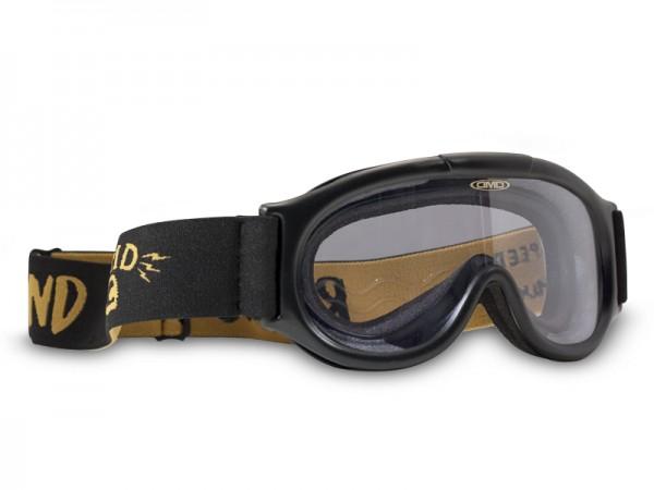 DMD Motorradbrille Seventyfive / Racer klar