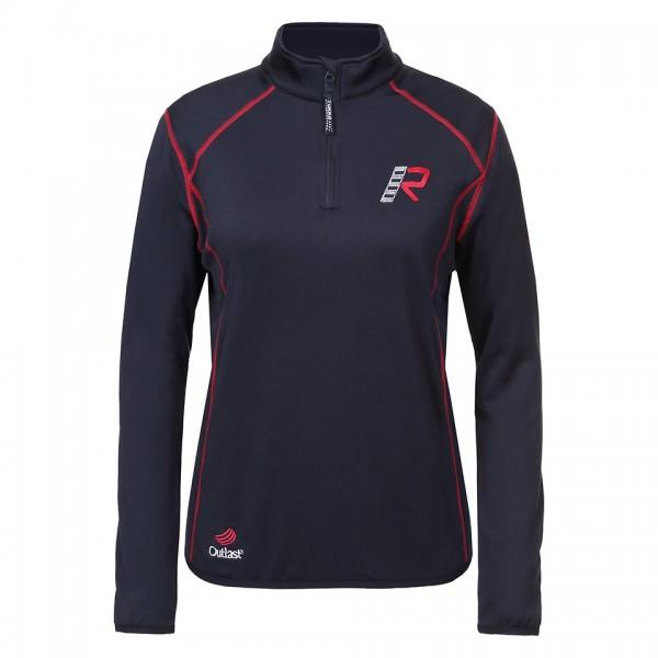 RUKKA Damen Fuktionsshirt KIMB-R Shirt Langarm schwarz-rot