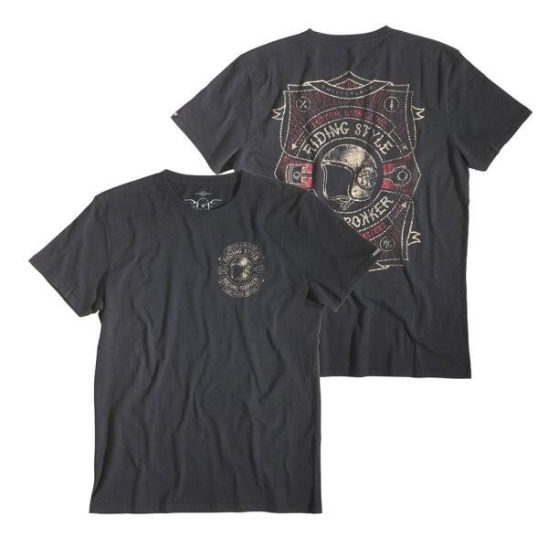 ROKKER T-Shirt HELMET black
