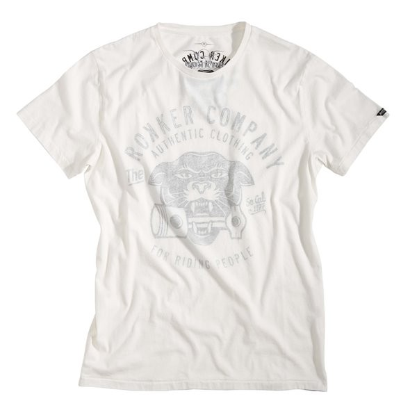 ROKKER T-Shirt PANTHER dirt-white