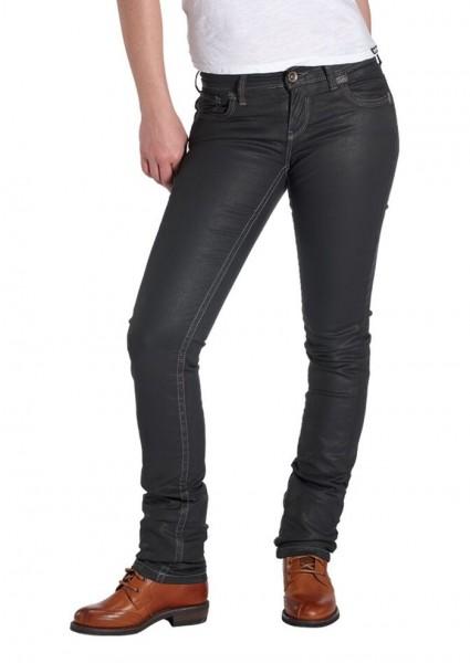 ROKKER Damen Jeans THE DIVA BLACK 2001