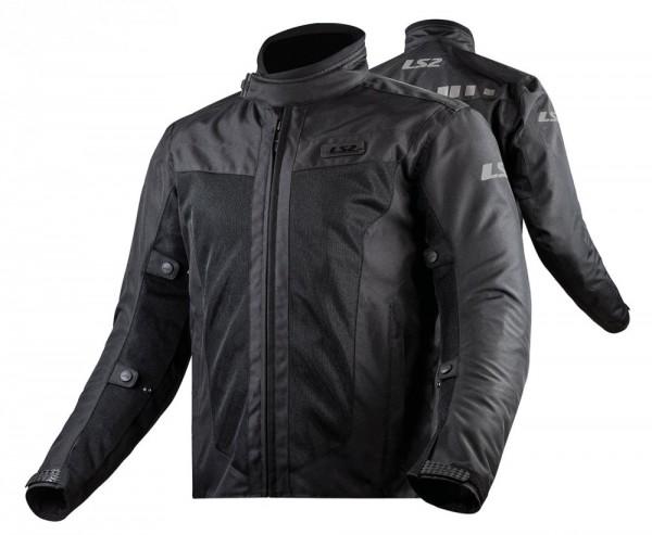 LS2 Textiljacke PRETADOR wasserdicht schwarz