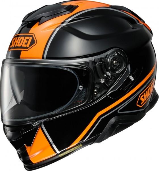 SHOEI Integralhelm GT-AIR II PANORMA TC-8 schwarz-orange