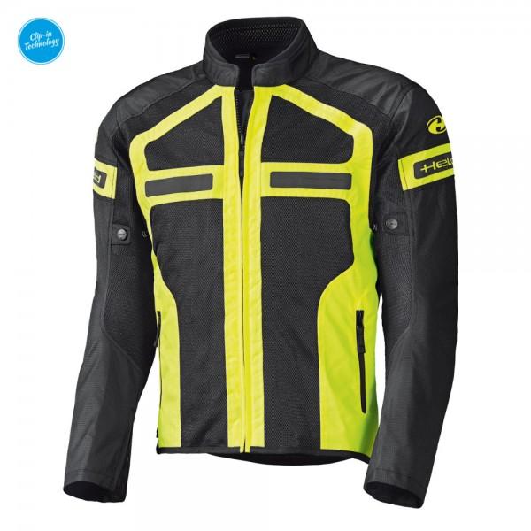 HELD Textiljacke Sommerjacke TROPIC 3.0 schwarz-gelb